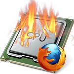 Firefox грузит процессор