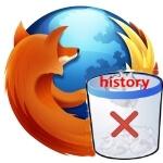 Как восстановить удаленную историю в Firefox