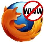 как заблокировать сайт в firefox